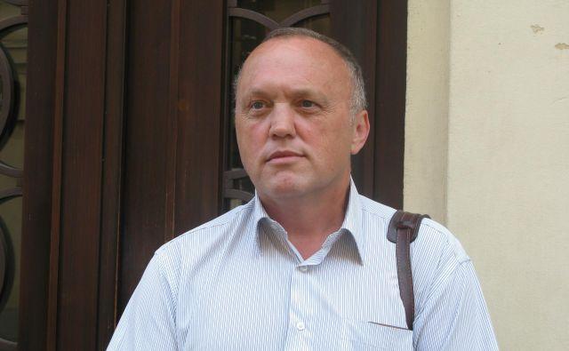 Jože Pustoslemšek, izbrani in nato neizbrani kandidat za direktorja Komunale Trbovlje. Foto Polona Malovrh