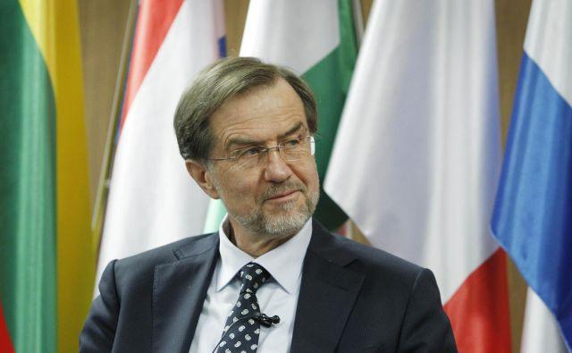 Lojze Peterle, predsednik prve slovenske demokratične vlade FOTO: Leon Vidic