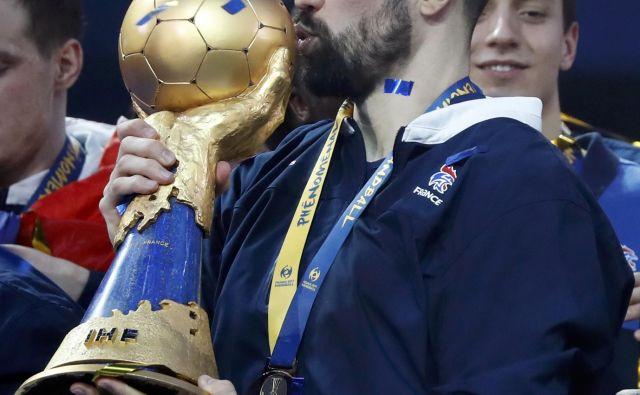 Nikola Karabatić, rokometaš srbskih in hrvaških korenin, je pogosto blestel pri francoski reprezentanci.<br /> FOTO Reuters