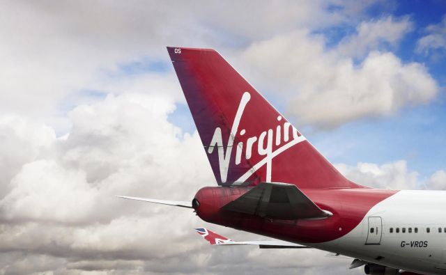 Virgin Airlines Foto Shutterstock