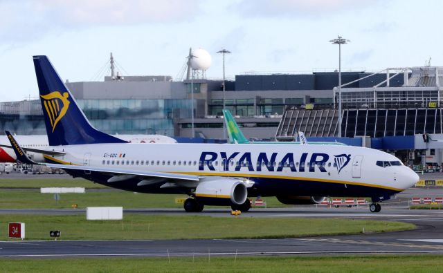 Letalo je poletelo iz Dublina proti Zadru. FOTO: Paul Faith/Afp