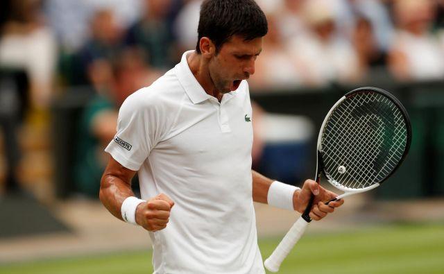 Đoković se vrača na šampionska pota. FOTO: Reuters