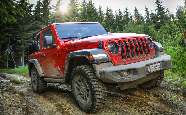 Dvovratni rubicon je najprivlačnejši blaten čez in čez. FOTO: Jeep