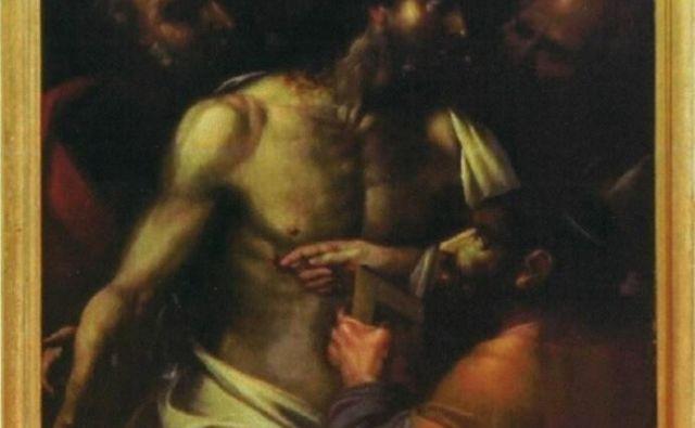 Velázquezovega Nejevernega Tomaža je DUTB prodala na dražbi. Foto Dokumentacija Dela
