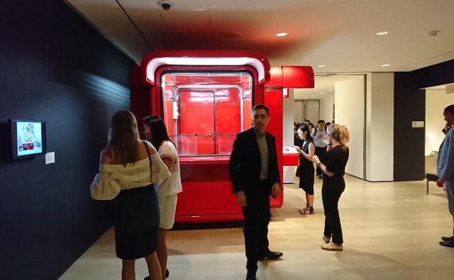 Znameniti K67 je prva stvar, ki jo obiskovalci zagledajo, ko vstopijo iz dvigala.FOTO: arhiv MoME