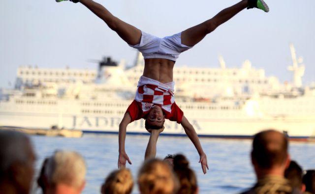 Finale svetovnega prvenstva v nogometu v Splitu. FOTO: Roman Šipić/Delo