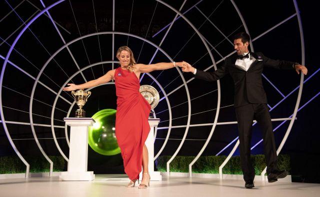 Zmagovalca Wimbledona sta na svetovni lestvici priplesala precej navzgor. FOTO: Bob Martin/AFP