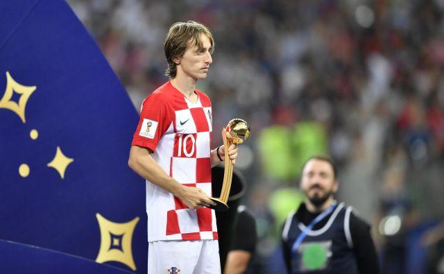 Luka Modrić je prepričal najbolj med vsemi na prvenstvu. FOTO: Martin Meissner/AP
