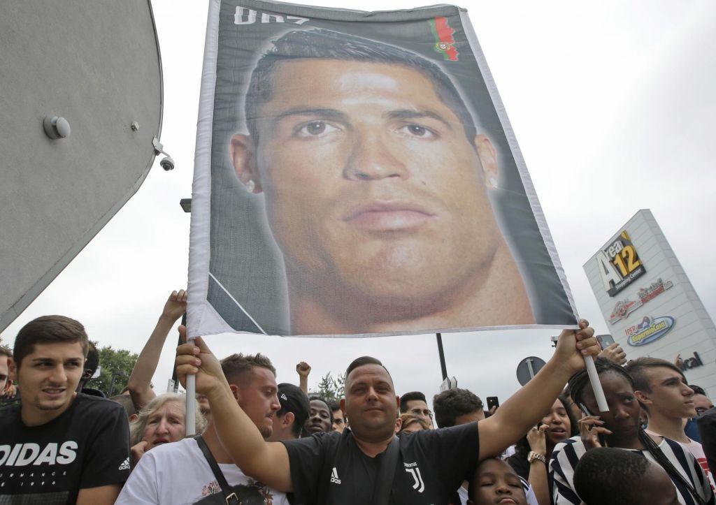 FOTO:CR7 nekoč Juventusov krvnik, zdaj njegov glavni adut