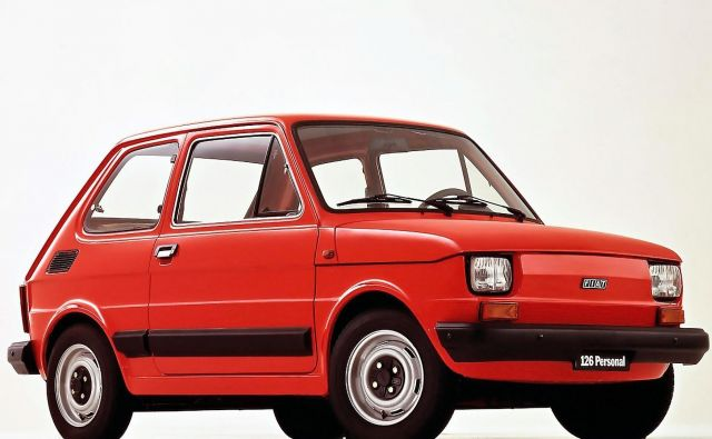 Fiat 126 je pustil najgloblji pečat v državah socialističnega bloka, kjer je bil v sedemdesetih in osemdesetih let prejšnjega stoletja zaradi proizvodnje na Poljskem zelo razširjen. FOTO: Fiat