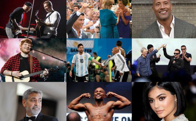 Najbogatejši zvezdniki FOTO: Agencije