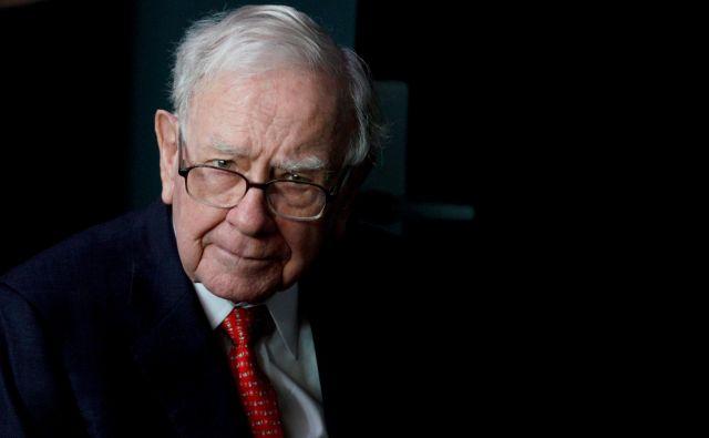 Warren Buffet je poleg svoje spretnosti na borzi znan tudi po svojih donacijah. FOTO: Reuters