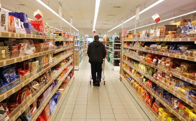 Supermarket na Parmovi, 2009. FOTO: Igor Zaplatil/Delo