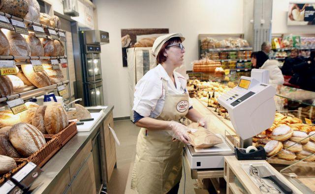 Ni se bati, da v nedeljo ne bomo deležni svežega kruha. FOTO Mavric Pivk/Delo