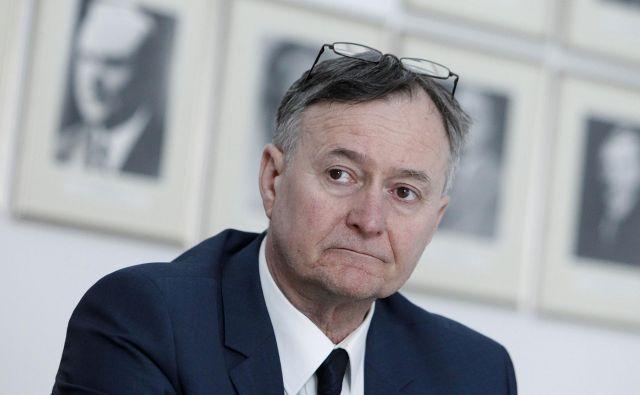 Prof. dr. Radko Komadina, predsednik Slovenskega zdravniškega društva. FOTO: Leon Vidic/Delo