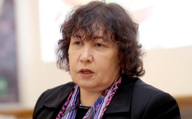 Sonja Anadolli je DBS v osmih letih popeljala čez različne faze in sanacijo, med kolegi pa velja za odločno, pošteno in konservativno bančnico. FOTO: Roman Šipić