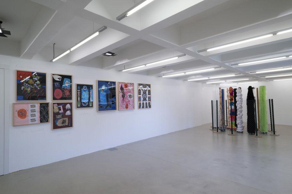 Razstava Dube Sambolec v Moderni galeriji