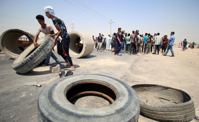 Protesti v Basri.<br /> FOTO REUTERS