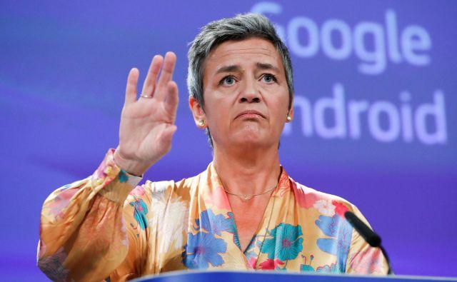 Margrethe Vestager, evropska komisarka za konkurenco FOTO: Francois Lenoir/Reuters