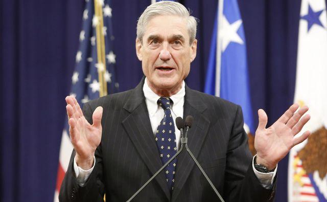 Junak iz vietnamske vojne, nekdanji direktor FBI in nočna mora Donalda Trumpa v eni osebi - Robert Mueller. FOTO: Reuters