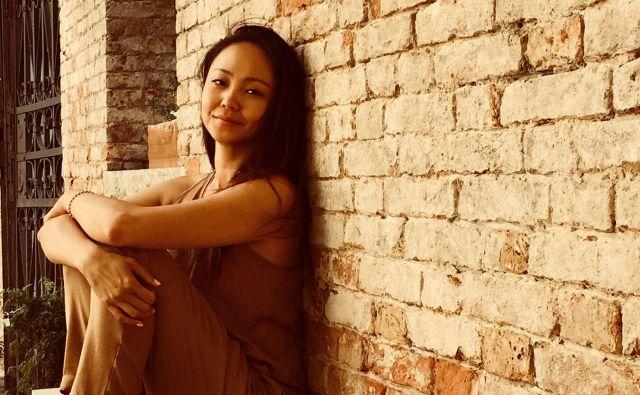 Ljubljančanka Yun Liu otroka spoznava tudi s kitajsko tradicijo. Foto osebni arhiv