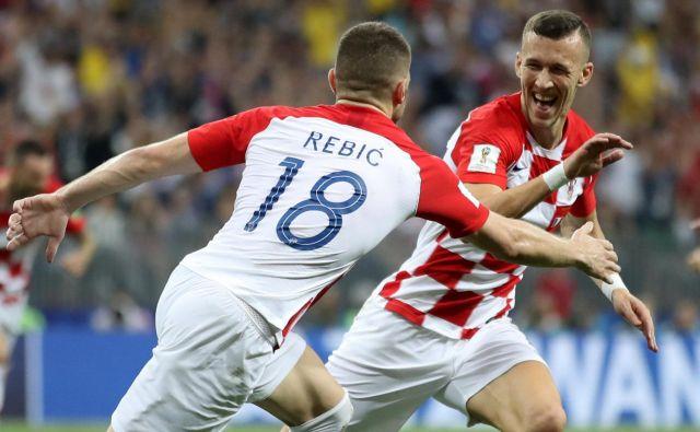 Ante Rebić in Ivan Perišić sta opozorila nase najbogatejše nogometne klube v Evropi.