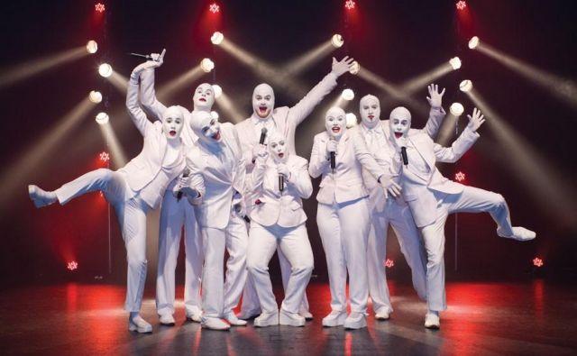Voca People, osmerica komedijantov z izjemnomi glasovi. FOTO: Promocijsko Gradivo