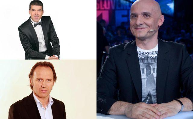 Televizijski uredniki FOTO: Ziga Culiberg, Stane Sršen, Pop Tv