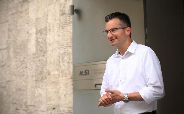 Marjan Šarec išče še enega partnerja za sestavo koalicije. FOTO: Jure Eržen