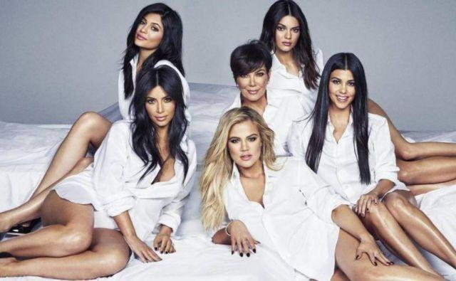 Klan Kardashian, v ospredju so vedno ženske. FOTO Promocijsko Gradivo