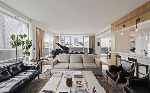 Stanovanje Justina in Jessice je prostorno in izredno svetlo. FOTO: Stribling.com