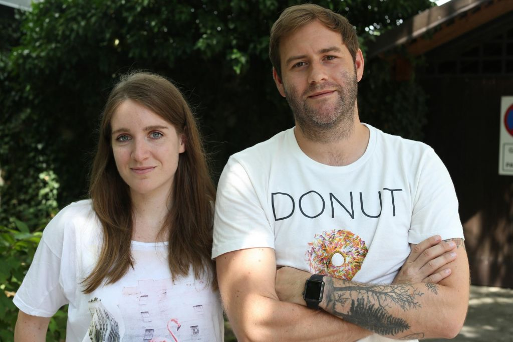 Lina in Luka v neomejenem bazenu talenta