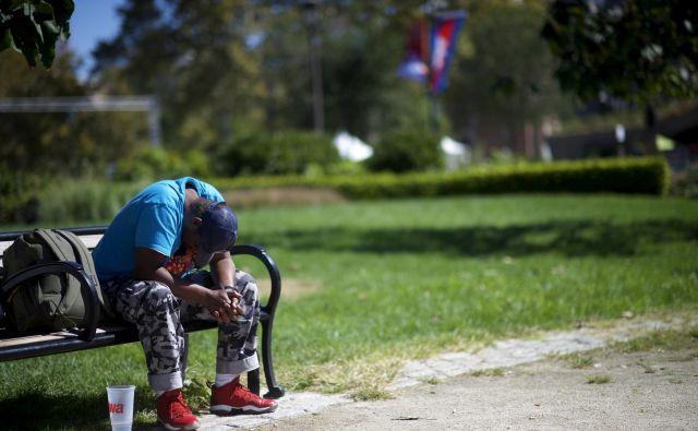 Včasih je revščina Američane spodbudila k iskanju boljših priložnosti, zdaj so mnogi obupali. FOTO: Reuters