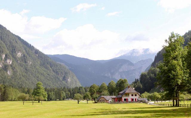 Logarska dolina, eden lepših kotičkov Slovenije FOTO: Marko Feist