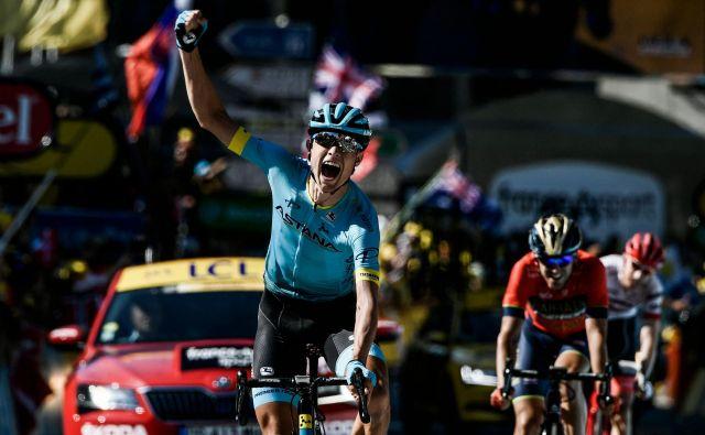 Magnus Cort Nielsen je dokončal odlično ekipno vožnjo Astane. FOTO: AFP