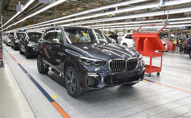 Veliko BMW-jev z oznako X nastaja v ZDA, tudi prihajajoči X5 nove generacije. FOTO: BMW