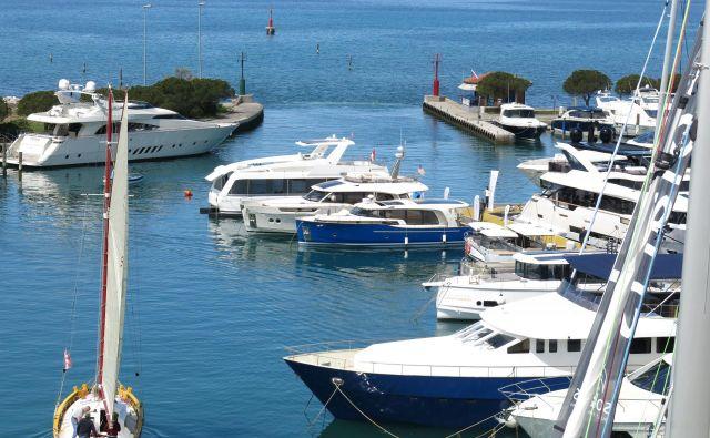 Marina Portorož Foto Delo All