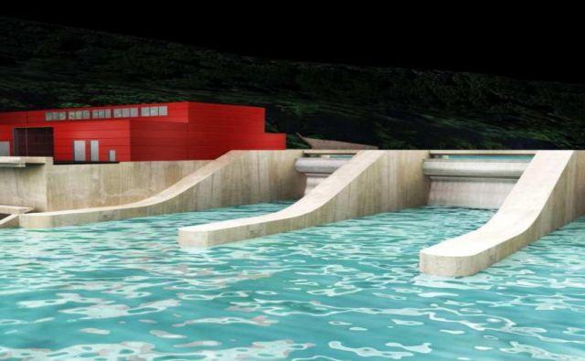 Hidroelektrarna Trbovlje bi bila poleg tiste v Suhadolu in Renkah med prvimi tremi, ki bi jih zgradiili na srednji Savi. Investicija v tri energetske objekte je ocenjena na 400 milijonov evrov.<br /> Foto arhiv HSE.