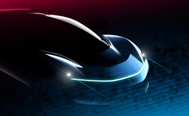 Skica bodočega super zmogljivega električnega avtomobila znamke Pininfarina. FOTO: Automobili Pininfarina