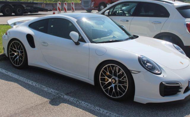 Ukradeni porsche 911 turbo S. FOTO: PU Novo mesto