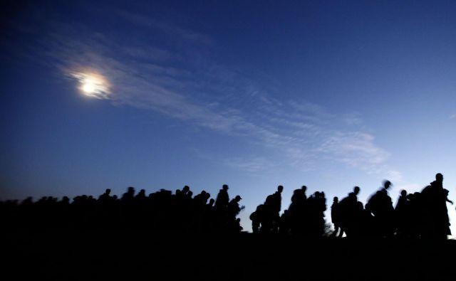 Primož Mlačnik razmišlja o moralni paniki ob begunskem valu, pa tudi o izkustvu notranjega izseljenstva. FOTO Matej Družnik/ Delo