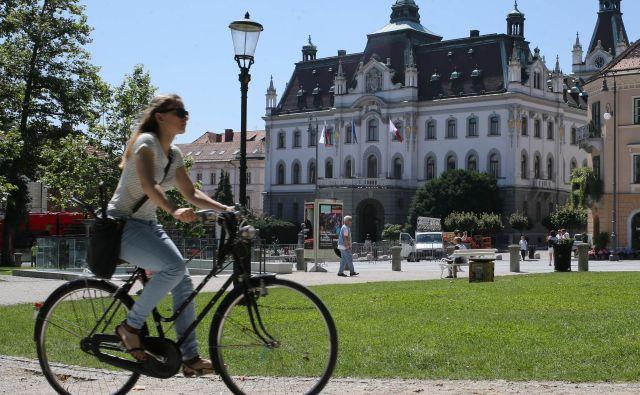 Univerza v Ljubljani FOTO: Tomi Lombar/Delo