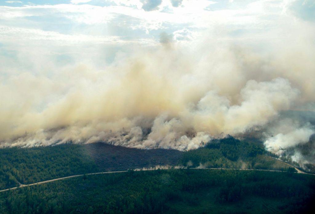 FOTO:Švedska se boji novih izbruhov požarov (FOTO)