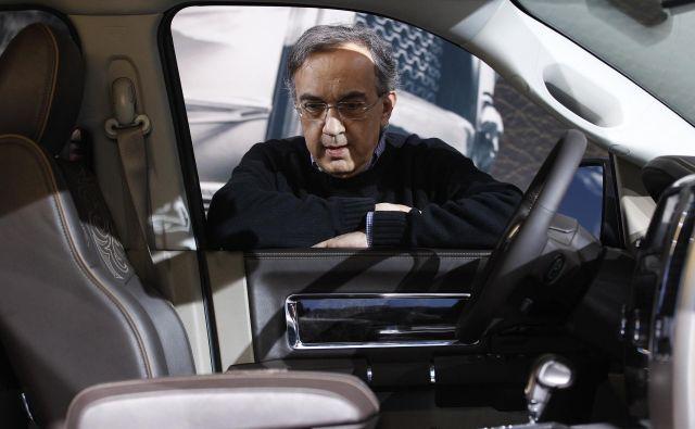 Sergio Marchionne je zapustil sedmo največjo avtomobilsko firmo na svetu. FOTO: Reuters