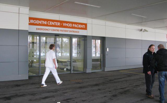 Vhod v Urgentni center Celje FOTO: Špela Kuralt
