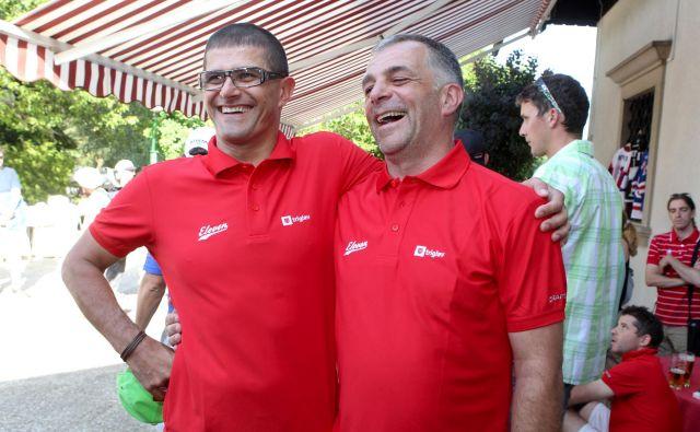 Matjaž Kopitar (desno) ne bo prevzel selektorske funkcije.