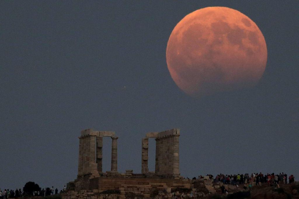 FOTO:Nebesni spektakel Lune in Marsa