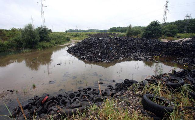 Tudi odvoz skoraj 28.000 kubičnih metrov zmletih odpadnih gum, ki so še ostale v gramoznici, bomo očitno plačali davkoplačevalci. Podjetje Albin promotion, ki je na podlagi veljavnega gradbenega dovoljenja z odpadnimi gumami začelo gramoznico zasipati leta 2008, je namreč že leta v prisilni poravnavi in z blokiranimi računi.<br />