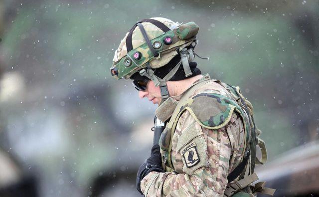 Vojaške vaje na Počku FOTO: Mavric Pivk