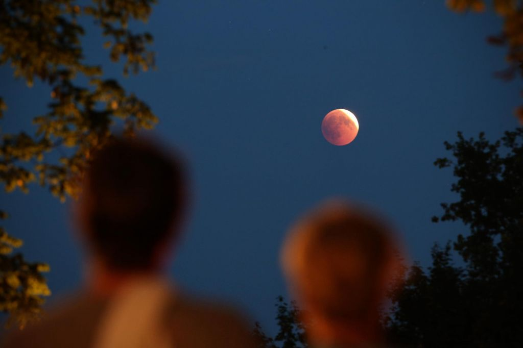 FOTO:Druženje z luno na Kureščku